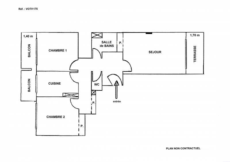 appartement 3 pièces NICE LIBERATION - VENTE EN VIAGER OCCUPE